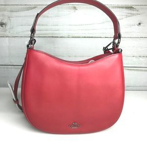 Coach Nomad Red Hobo NWOT